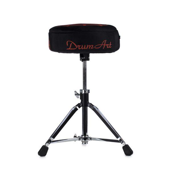 Drum Art Soft Throne round sgabello