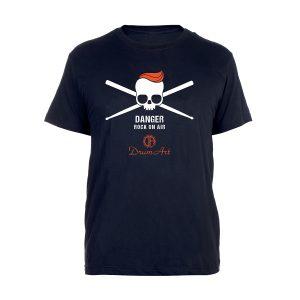Drum Art - T-shirt teschio